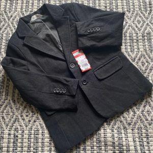 [cat & jack] boys tweed suit jacket